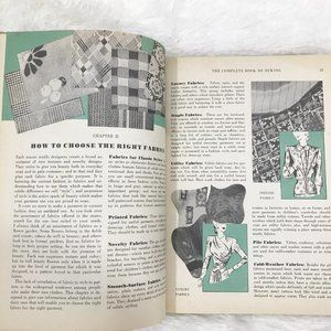 Vintage Accents - Vintage Sewing Book